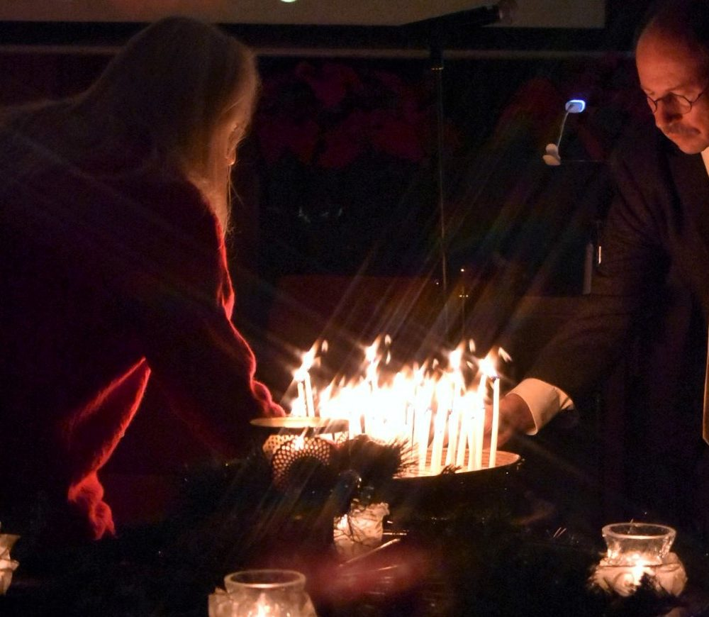 Winter Solstice Service in the Sanctuary