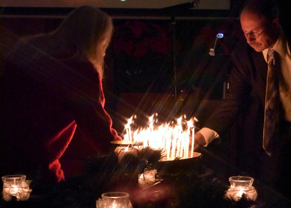 Winter Solstice Service in the Sanctuary