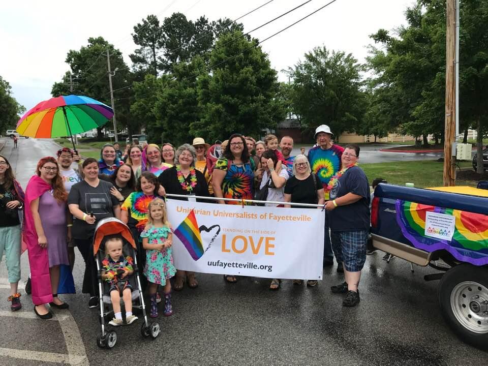 UUFF at 2019 Pride Parade