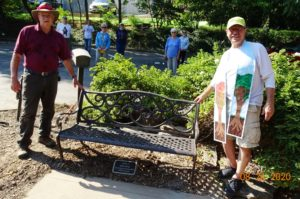 Bench and Plaque to honor John King