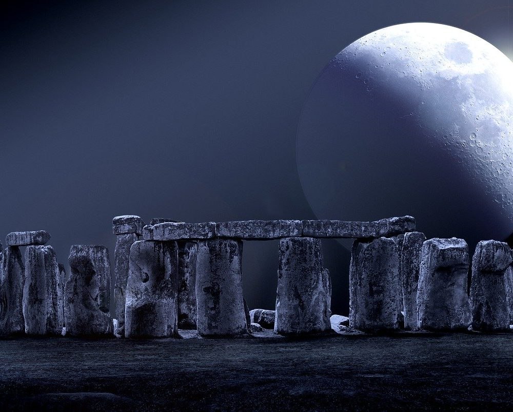 Full Moon over Stonehenge